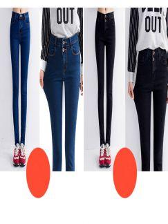 Bỏ sỉ Quần Jean dài nữ cao cấp giá rẻ 14.08- G120