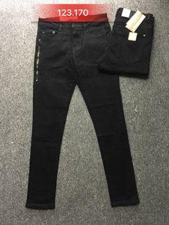 Quần jean nam đen ống côn 123.170