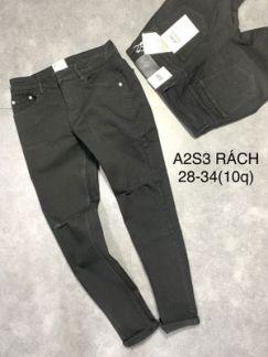 Quần jean dài nam RA2S3