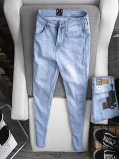 Quần jean nam xanh #672