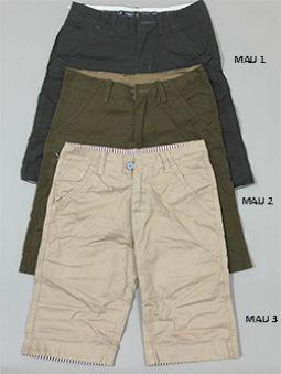 Bỏ sỉ quần short kaki nam QSK01 (3 MÀU)