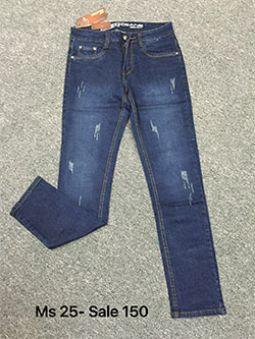 Bỏ sỉ Quần jean nam skinny giá rẻ MS25-G150