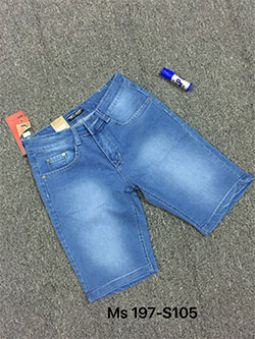 Bỏ sỉ quần shot Jean MS197-E105