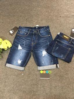 Quần Short Jean Nam QS493 Giá Sỉ