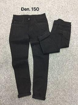 Quần jean nam đen trơn