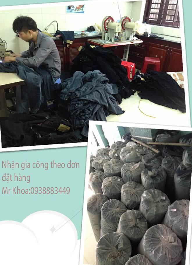 Tìm xưởng may gia công quần jean ở sài gòn - 1