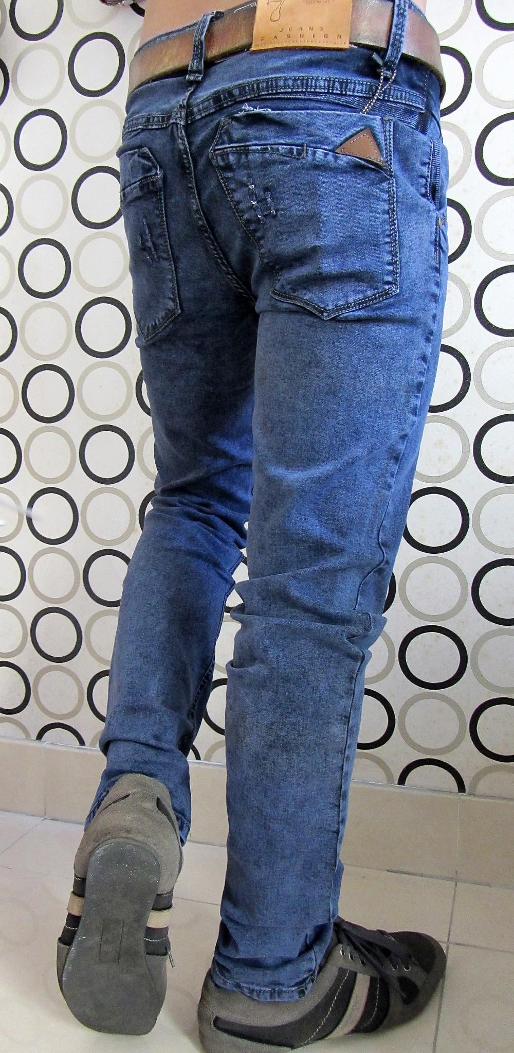 Quần jean nam đẹp phong cách mạnh mẽ bụi bặm cho các chàng trai - 3