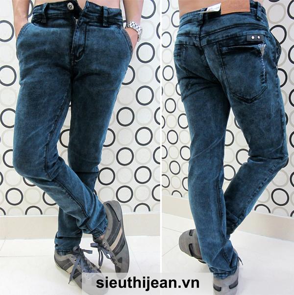 Dạo phố cuối tuần cực chất với thời trang quần jean nam đẹp - 1