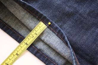 Mách bạn cách lên gấu quần jeans dễ dàng - 1