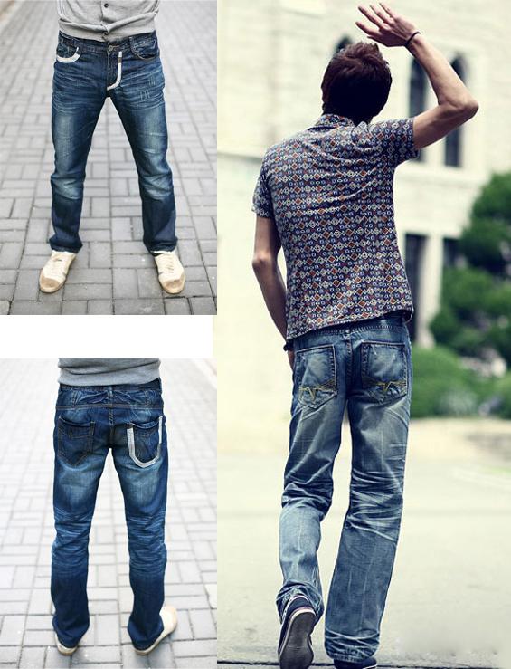 Tư vấn thời trang nam chọn quần jean cho người gầy - 9