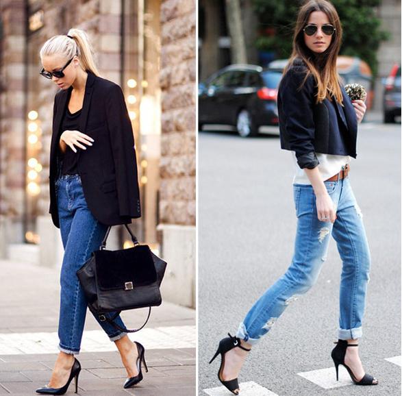 Phối jeans rộng theo từng hoàn cảnh - 4