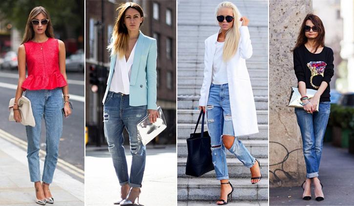 Phối jeans rộng theo từng hoàn cảnh - 5