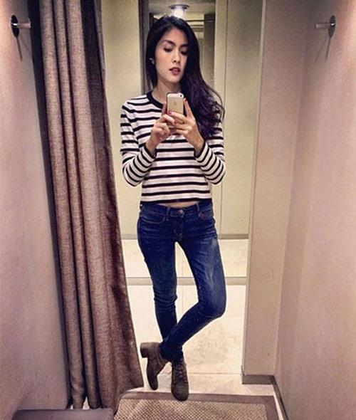 3 kiểu quần jeans cần có của một tiểu thư thành thị - 1