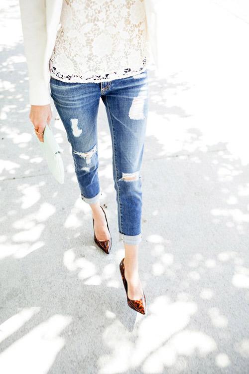 3 kiểu quần jeans cần có của một tiểu thư thành thị - 6