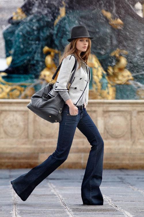 3 kiểu quần jeans cần có của một tiểu thư thành thị - 7