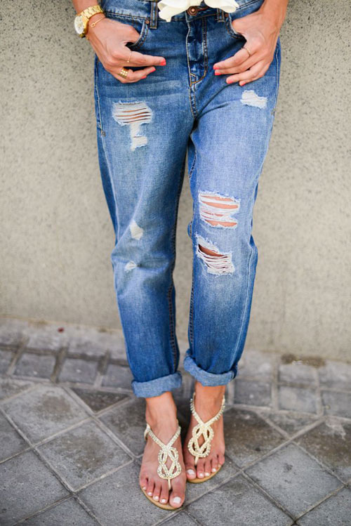 3 kiểu quần jeans cần có của một tiểu thư thành thị - 5