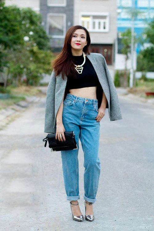 3 kiểu quần jeans cần có của một tiểu thư thành thị - 4