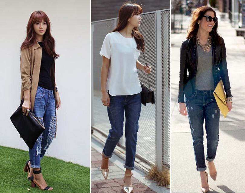 Phối jeans rộng theo từng hoàn cảnh - 3