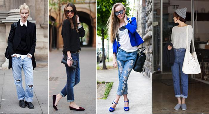Phối jeans rộng theo từng hoàn cảnh - 6
