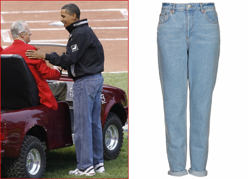 Tổng thống nga mỹ phong độ với quần jeans - 1