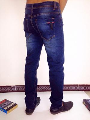 Quần jeans nam hàn quốc - 1