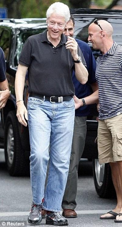 Tổng thống nga mỹ phong độ với quần jeans - 3