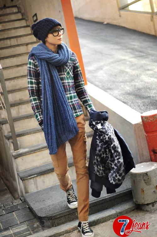 Những mẫu quần jean nam đẹp 2015 mang phong cách hàn quốc cho chàng trai đầy năng động cá tính - 10