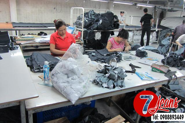 Xưởng may gia công quần áo siêu thị jean - 2