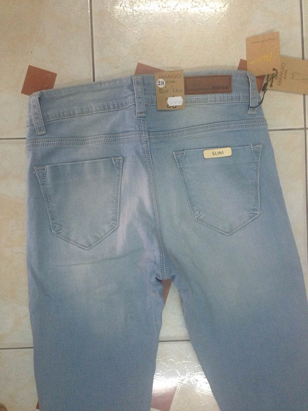 Thanh lý lô hàng 360 quần jean dài nữ xuất khẩu - 5
