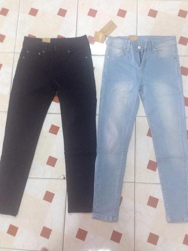 Thanh lý lô hàng 360 quần jean dài nữ xuất khẩu - 1