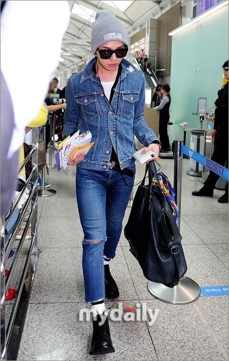 Bộ sưu tập jeans rách của thủ lĩnh big bang - 9