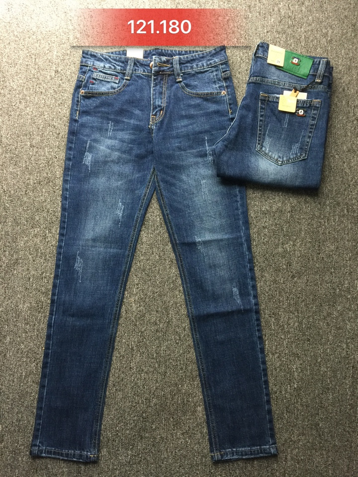 Những mẫu quần jeans nam giá sỉ bán sỉ giá rẻ đẹp tại xưởng may quần jean bay thu 2017 - 1