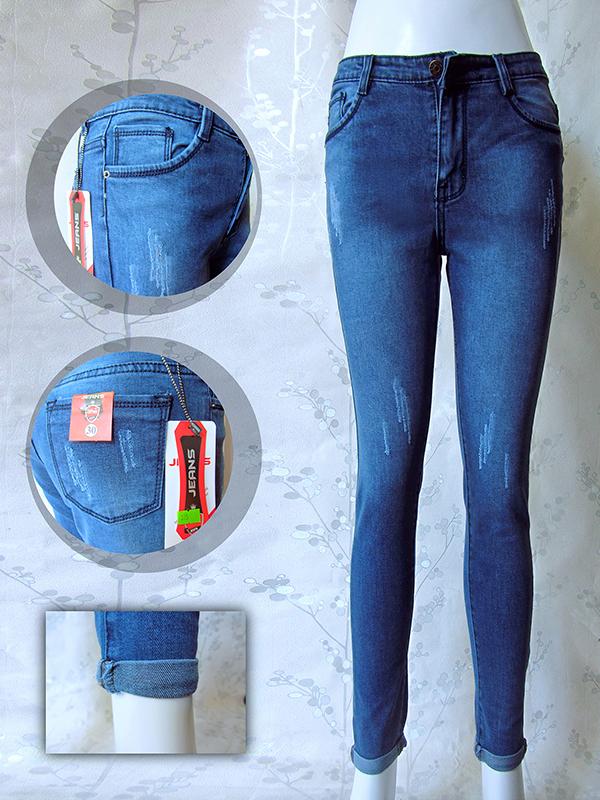 Bỏ sỉ Quần jean dài nữ 375- G120