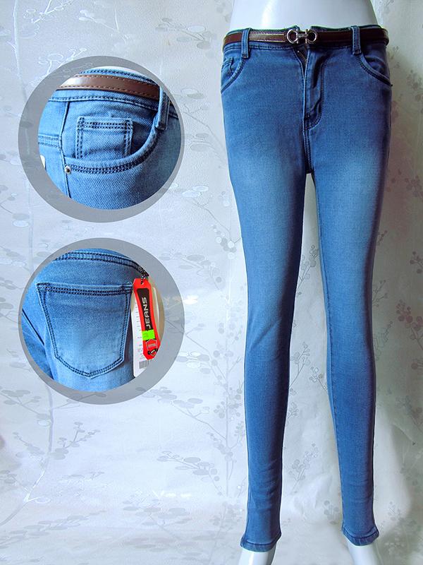 Bỏ sỉ Quần jean dài nữ 378- G120