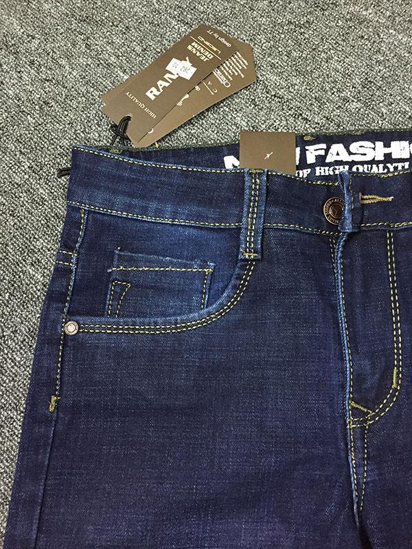 Quần Jeans Nam Đen Giá Rẻ MS282-B175
