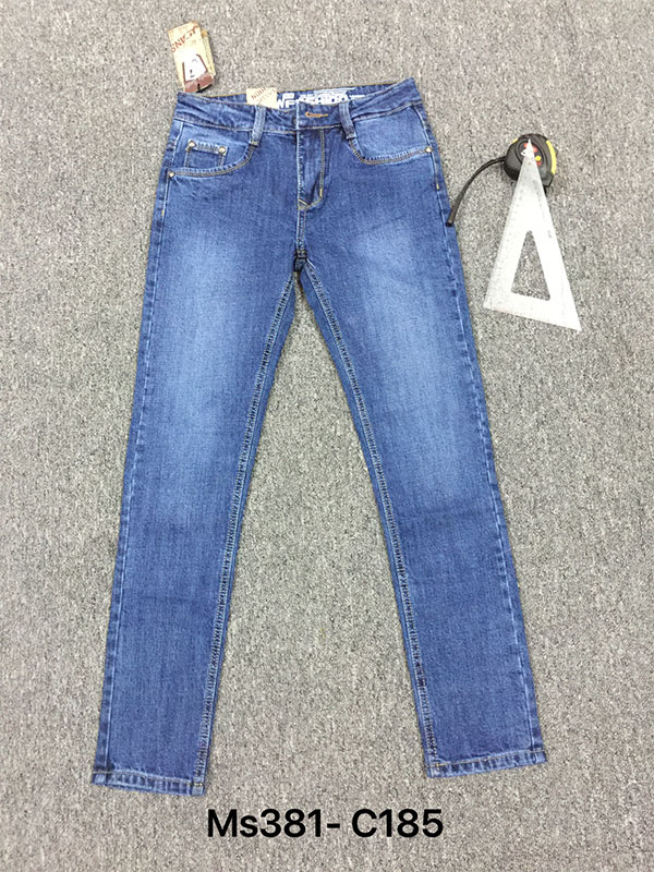 Bỏ sỉ quần Jean nam giá rẻ MS381-C185