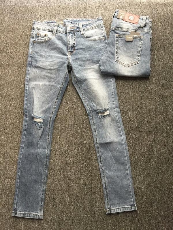 Quần Jeans Nam Rách 19.185