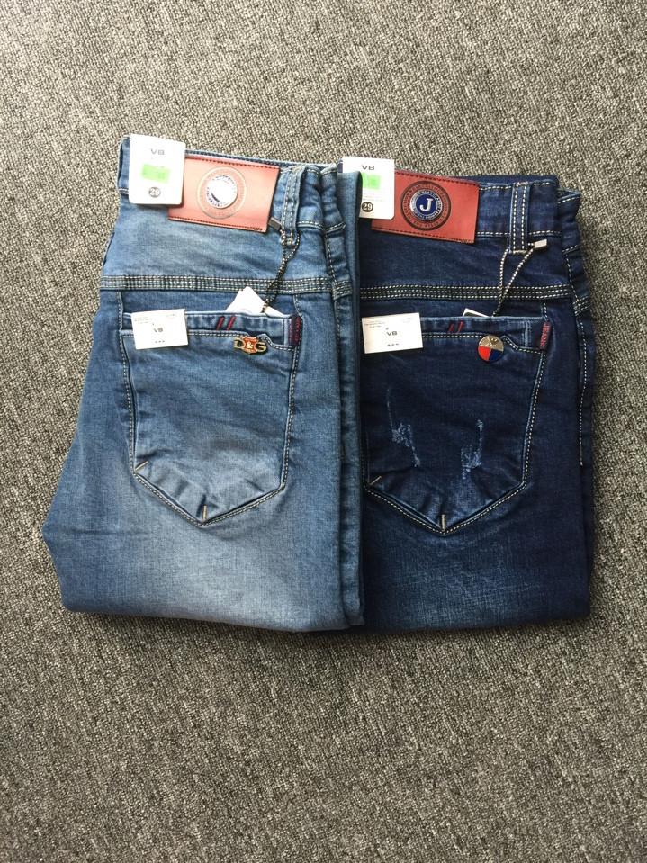 Quần Jeans Nam Túi Hộp V79.155