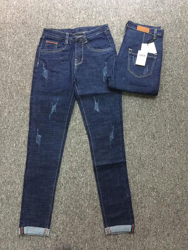 Quần jean nữ rách asos M01.95