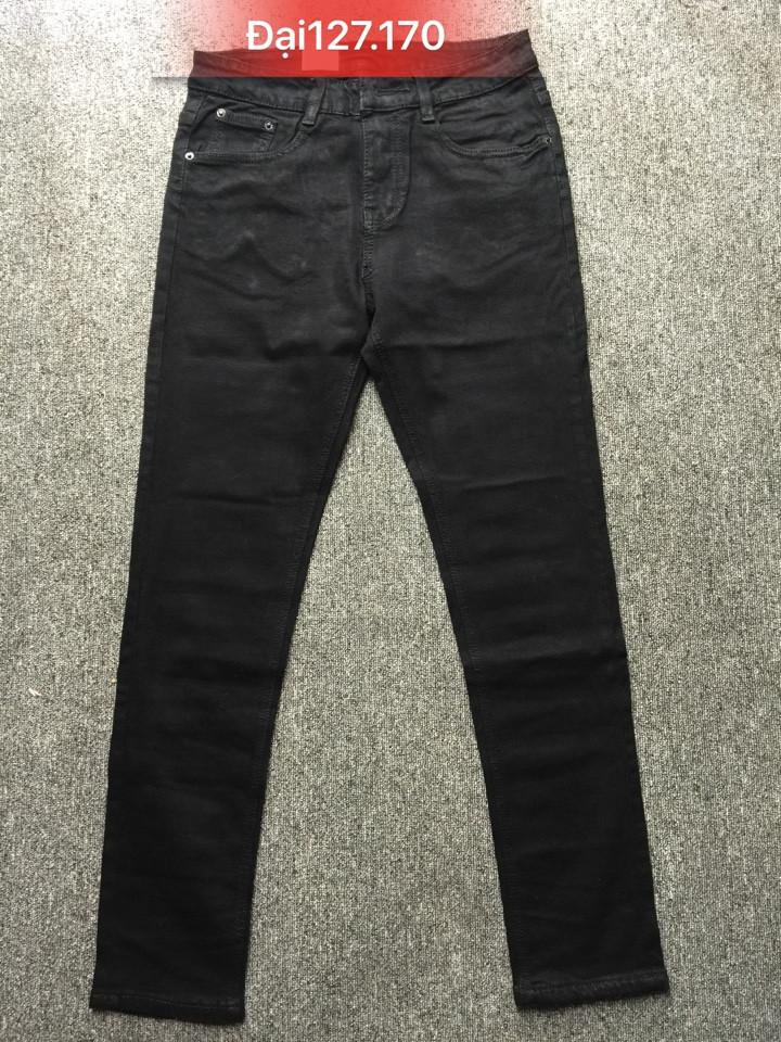 Quần jean nam ống côn đen size to 127.170