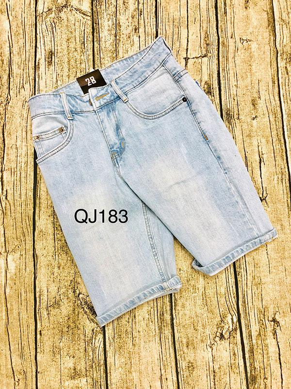 Quần short jean nam QJ183