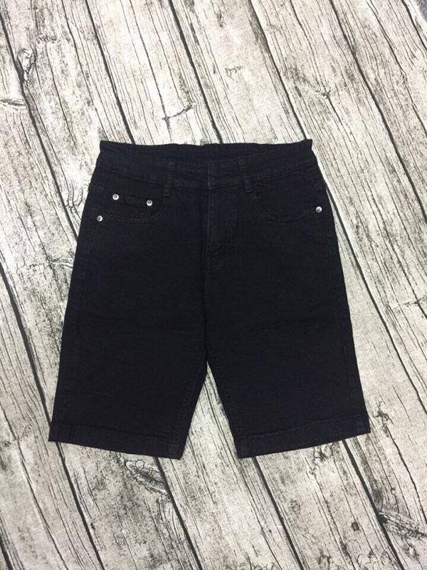 Quần sọt jean nam đen