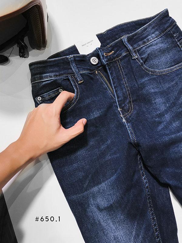 Quần jean dài co giản nam #650