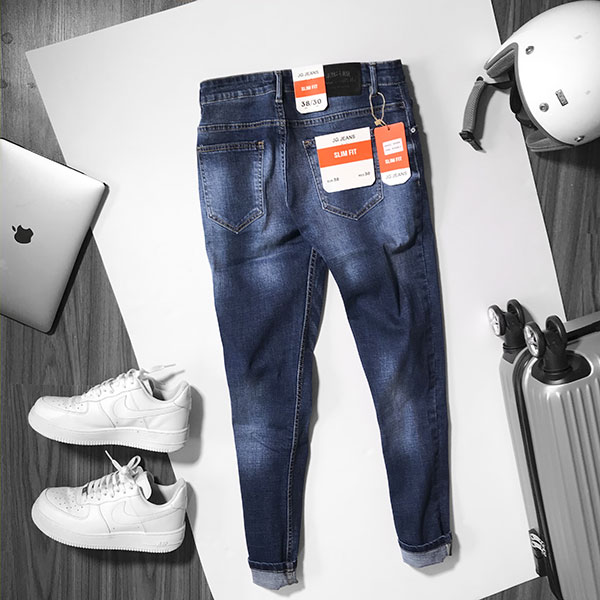 Quần jean nam xanh #648