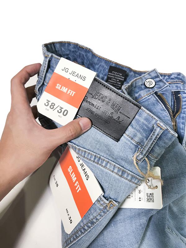 Quần jean dài nam 633.1